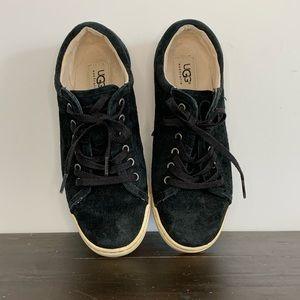 Ugg suede black sneakers